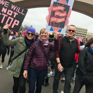 Meeting, Marching, & Having a Voice