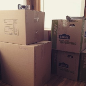 Moving With Kids: Our Moving Day Story