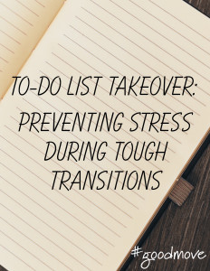 stressful transitions